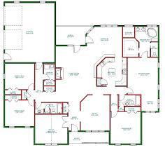 single story open floor plans one level open floor house plans rotunda info