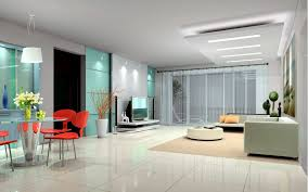 interior design how to emphasize the individuality new white red