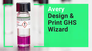 How To Print Business Cards At Home Ghs Globally Harmonized System Chemical Labels Avery Com
