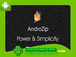 androzip apk aplicación androzip pro file manager descomprime archivos en tu