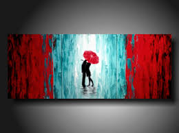 modern paint romantic background design style paintings ideas on plain wall