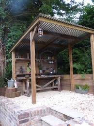 outdoor kitchen roof ideas vote for the best outdoor living space simple designs spaces