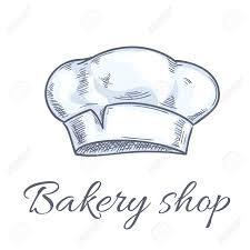 chapeau de cuisine chapeau baker icônes pour boulangerie emblème chef de cuisine tuque