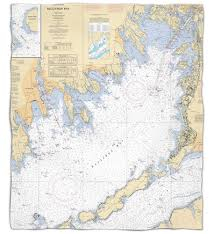 Port Clinton Ohio Map by Nautical Chart Throw Blankets Map Blankets Personalized Chart Throws