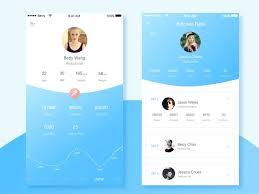 50 user profile page u2014 design inspiration gui pinterest user
