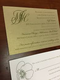 chicago wedding invitations chicago wedding invitation store a noteworthy