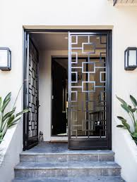 Front Door Grill I92 For Cool Home Designing Ideas with Front Door