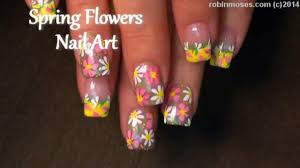 nail art tutorial corset and flowers nail it flower nails diy