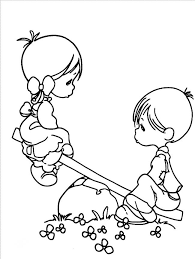 168 precious moment coloring pages images