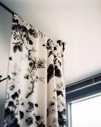 Black Floral Curtains Details Photos Industrial Curtain Rod Industrial Curtains And