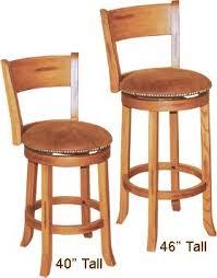 Oak Bar Stool With Back Rustic Oak Round Swivel Barsool With Back Rustic Oak Barstool