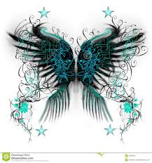 butterfly wings stock illustration illustration of abstract 8585968
