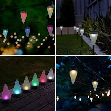 unique solar lights outdoor solar powered landscape lighting system lovely aglaia color changing