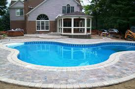 imposing decoration cost to install pool best swimming pool