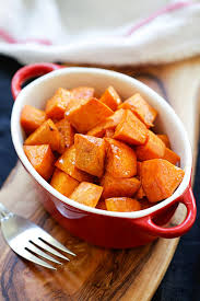 honey cinnamon roasted sweet potatoes easy delicious recipes