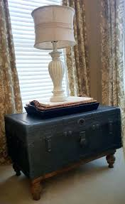 Vintage Trunk Coffee Table Trunk Ideas Trunk Large Size Of Steamer Trunk Side Table