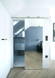 Sliding Bathroom Mirror Sliding Bathroom Door Wall Mounted Sliding Bathroom Door Sliding