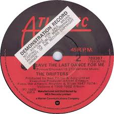 45cat the drifters white christmas save the last dance for