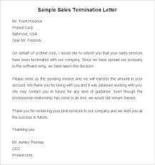 Sle Letter Of Absence Due To Free Termination Letter Template 33 Free Sle Exle