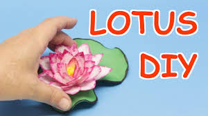 how to make lotus flowers from plastic bottles art and craft