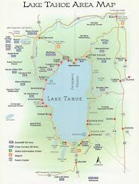 Bay Area Map Agate Bay Properties Area Map North Lake Tahoe Ca