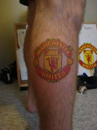 manchester united tattoo back cool tattoos designs