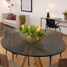 36 inch round tempered glass table top grey glass table top 36 inch round beveled tempered