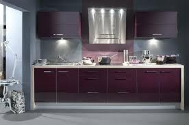meuble cuisine aubergine meuble cuisine aubergine cuisine aubergine et grise photo decoration