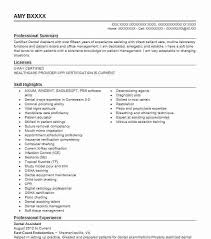 Resume Template Dental Assistant Dental Assistant Resume Examples Resume Examples For Dental