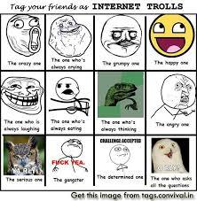 Trolls Meme - internet trolls meme funny facebook tag