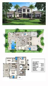 Floor Plans For Narrow Lots by 50 Best Contemporary House Plan Images On Pinterest Contemporary