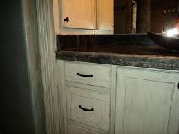 Rustic White Kitchen Cabinets by Enchanting 60 Distressed Home Decor Inspiration Design Of Top 25