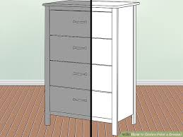 How To Paint A Filing Cabinet How To Ombre Paint A Dresser With Pictures Wikihow