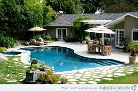 Tropical Backyard Designs Triyae Com U003d Backyard Designs With Swimming Pool Various Design