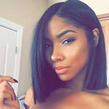 black hair weave part in the middle the 25 best middle part bob ideas on pinterest bob with middle