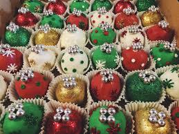 ornament cake balls sugar bee bakery www