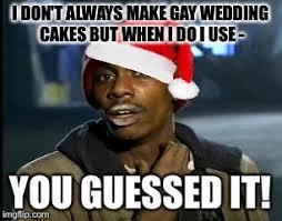 No Cake Meme - no cake for gays imgflip
