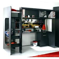 lit mezzanine avec bureau int r lit mezzanine metal avec bureau dimension lit mezzanine 2 places