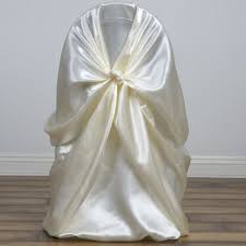 universal chair cover 75 satin universal self tie for any of chair cover wedding
