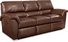 Brown Faux Leather Sofa Minimalist Living Room Decoration With Size Lazy Boy Sofa