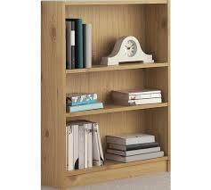 Cheap Oak Bookcases Buy Home 2 Shelf Small Bookcase Oak Effect At Argos Co Uk Your