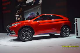 mitsubishi crossover models premiere of the mitsubishi plug in hybrid crossover concept xr