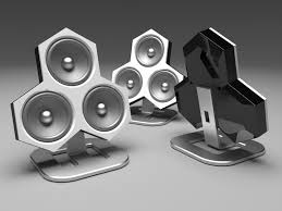 Speaker Designs Nrg Glo Portable Bluetooth Speaker Grey Walmart Com Idolza
