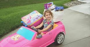 drives barbie car gifts neighbors lost