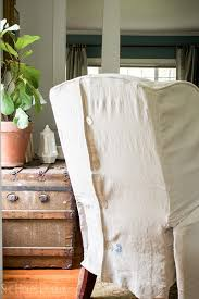 how to slipcover a recliner she holds dearly