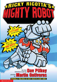 ricky ricotta ricky ricotta s mighty robot turtleback school library binding