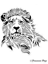 25 roaring lion drawing ideas roaring lion