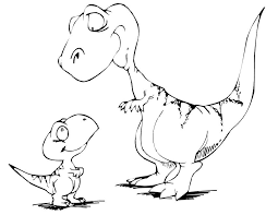 coloring pages dinosaur fablesfromthefriends com