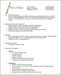 Resume For Teachers Example by Great Results From Your Teacher Resume Classroom Caboodle