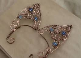 wire ear cuffs ear cuffs wire wrapped ear cuffs elven ear cuffs wire
